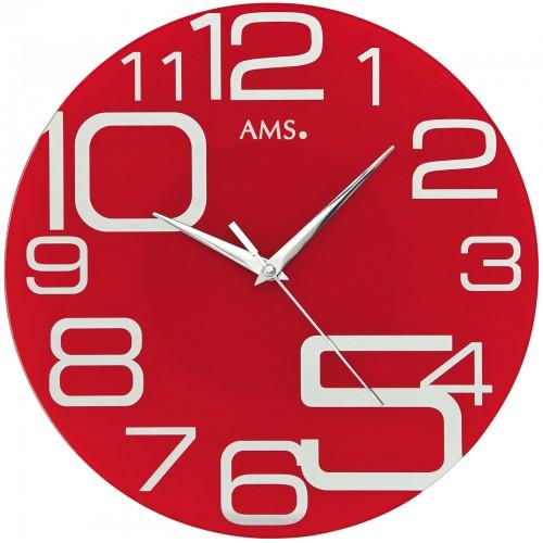 AMS 9462 Wanduhr Quarz analog - 1