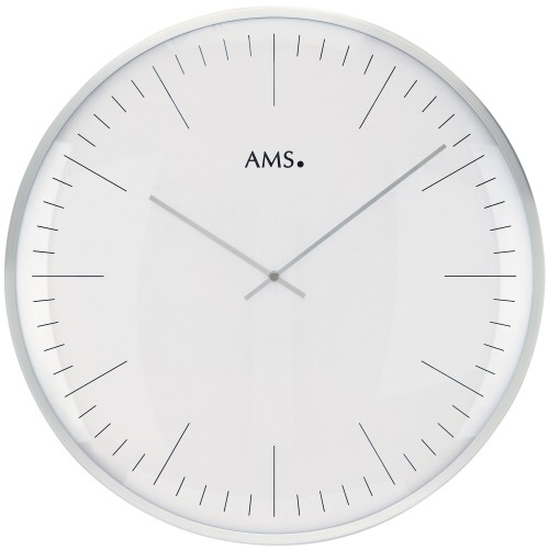 AMS 9540 Wanduhr Quarz analog - 1