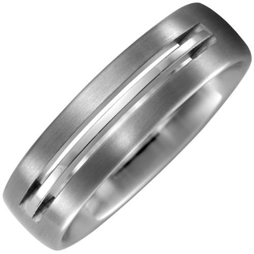 Partner Ring aus Titan matt Partnerring - 1