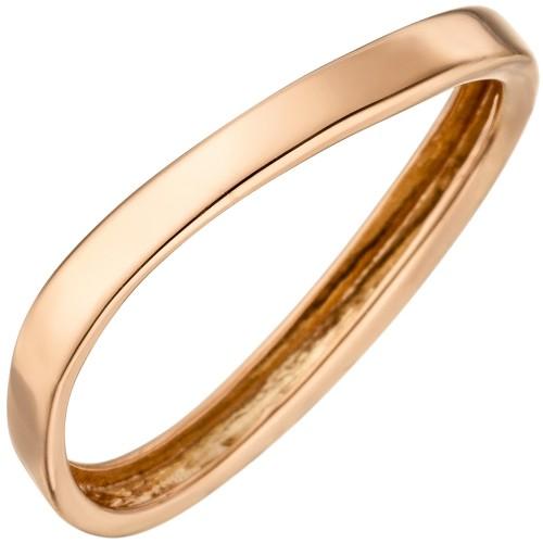 Damen Ring 375 Gold Rotgold Rotgoldring - 1