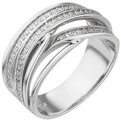 Damen Ring 925 Sterling Silber - 1